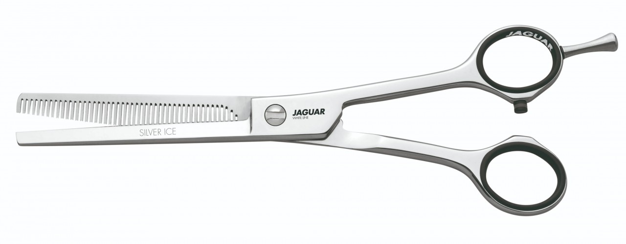 Texturing Scissors JAGUAR SILVER ICE 46