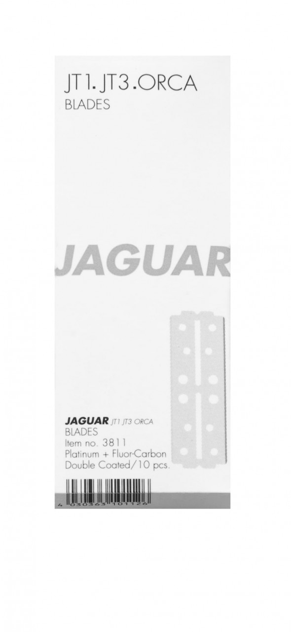 Rasierklingen JAGUAR für JT1, JT3, ORCA Verpackung