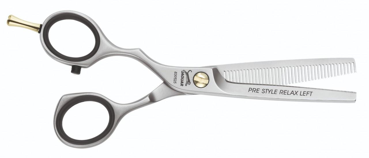 Left Handed Texturing Scissors JAGUAR RELAX 28