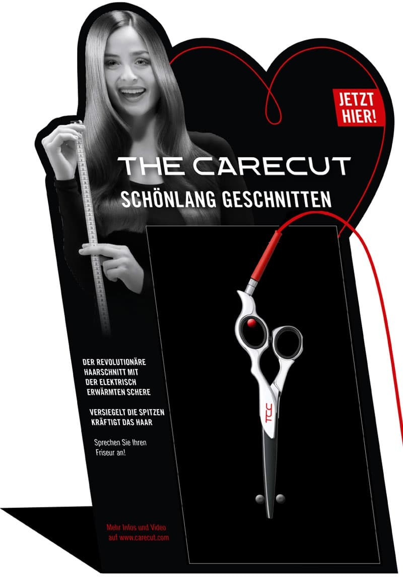 Scherenstation Heisse Scheren TCC THE CARECUT
