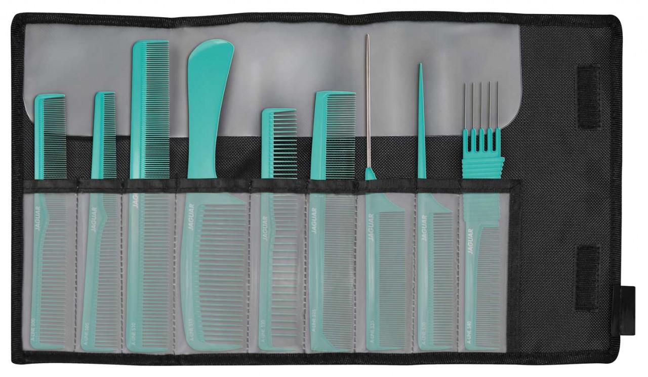 Set de peignes à cheveux professionnels JAGUAR A-LINE MINT