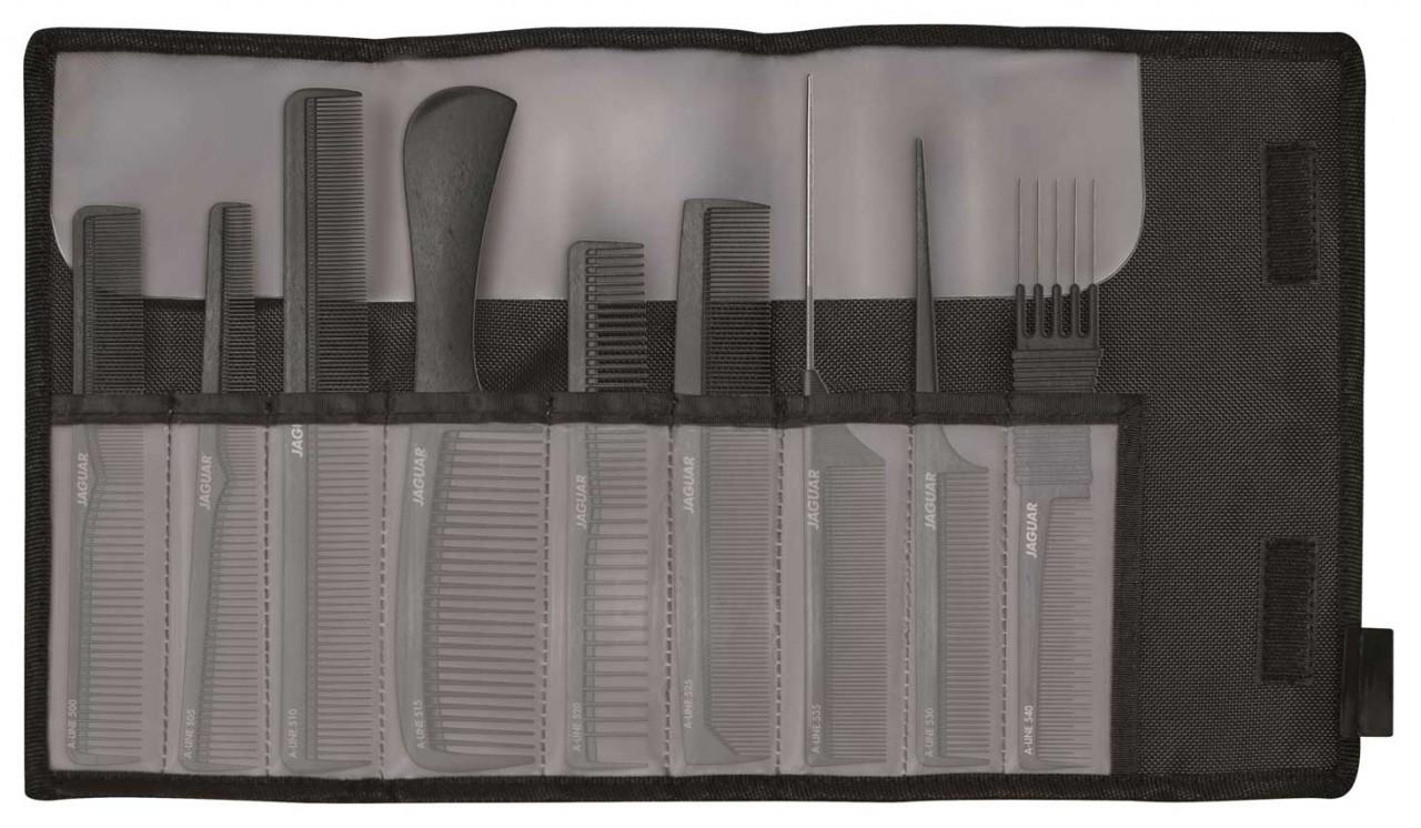 Professional Hair Comb Set JAGUAR A-LINE CARBON
